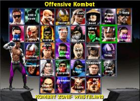 Offensive Kombat by Simony17y