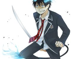 Ao no Exorcist by ageha1sBf