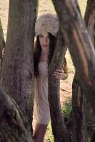 princess in the woods by fae-photography