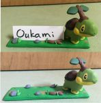 Turtwig Name Plate by Oukami4