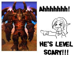 He's Level Scary by CazGirl