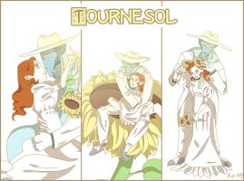 UMAP - Lucille & Francoeur - Tournesol by Chisako