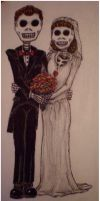 Day of the Dead Wedding by VampSavat
