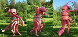 Shrimp costumes by Ulltotten
