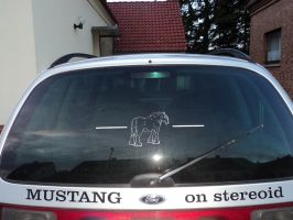 Mustang on stereoid by Kreativjunkie
