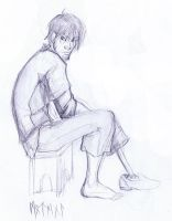 Modern Hiccup Sketch by motega