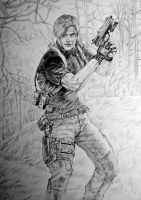 Leon Kennedy, RE4 by KingVahagn