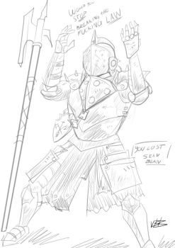 Lawbringer sketch by Cizjut