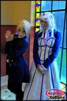 Alois and hannah kuro by cosplayculture