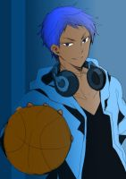 Colored Aomine by NightrayTsukishiro