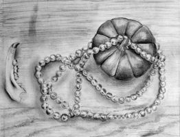 graphite still life by Mrs-Elric-613