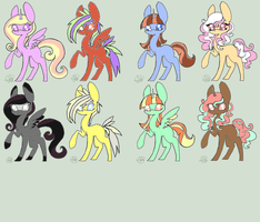 Mlp Adopts 7 by FromTheRainbowAdopts