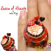 Queen of Hearts Cake Ring by colourful-blossom
