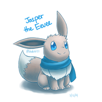 Request: Jasper the Eevee by Bluekiss131