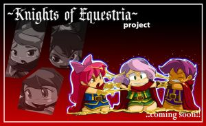 Mlp KNIGHTS OF EQUESTRIA : CUTIE MARK CRUSADERS by ShoNuff44