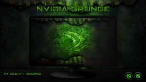 NVIDIA GRUNGE WallPaper - By BeautyDesignz by BeautyDesignz