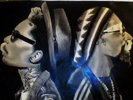 Snoop Dogg and Wiz Khalifa French Inhale by clvire