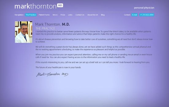 Mark Thornton MD by da8esix