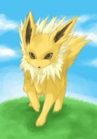 +Jolteon+ by Sprinkling-stars