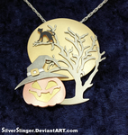 Night of Fright Pendant by SilverSlinger