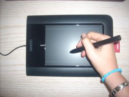 My Bamboo Pen Tablet by Saruz96