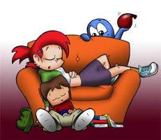 Napping Colored by Captain-Galant