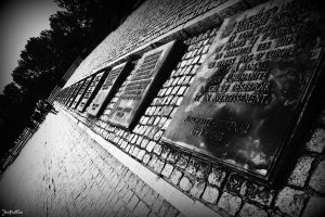 Memorial in Birkenau by Vanilla-Shadowgame