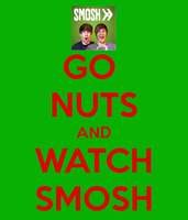 Go Nuts and Watch Smosh by Londonexpofan