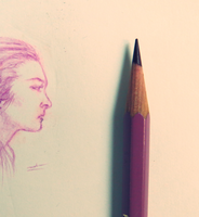 Color pencil: Tiny Inspiration (reupload) by vt2000
