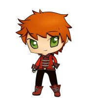 Chibi Swordsman by moonlightpuppet12