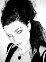 Amy Lee of Evanescence by MC36214