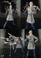 Inspector Gadget custom Figure part 2 by Jin-Saotome