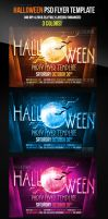 Halloween Party Flyer Template by ImperialFlyers