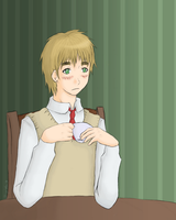 APH +Tea Time+ by DemonedAway