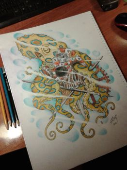 octopus skull by StathisP