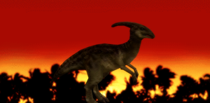 MMD Newcomer Parasaurolopus + DL by Valforwing
