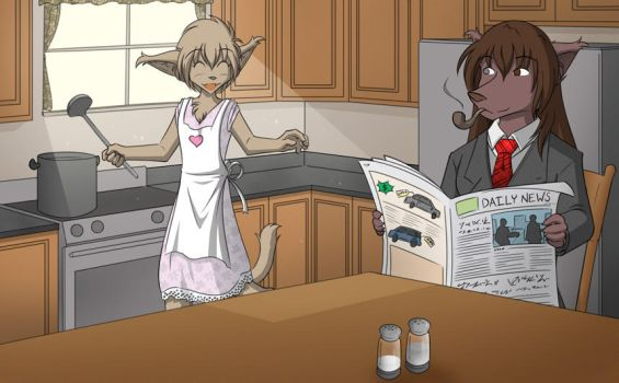 Day in the Life of The Keisers by Twokinds