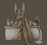 Candlelight Sketch by manatiki