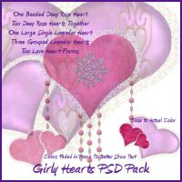 Girly Hearts PSDs by briarmoon-stock