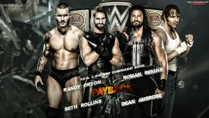 WWE Payback - WWE Championship Match Wallpaper by MarcusMarcel