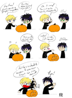 Pumpkin carving by psocid