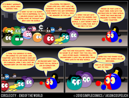 CC449 - End of the World 49 by simpleCOMICS