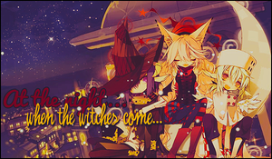 When the witches come... by umiko123