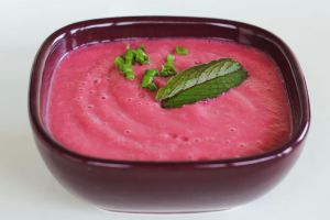 Beet, Cucumber and Mint Fresh Soup by Rea-the-squirrel