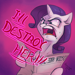 Rarity is Angry by bronyseph