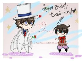 Happy B-day Tantei-kun by RedRegret