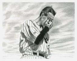 Lou Gehrig by youngEY
