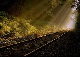 Tracks to the light 7 by wienwal