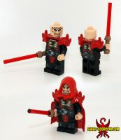 Darth Krayt Reborn LEGO Minifig by Saber-Scorpion