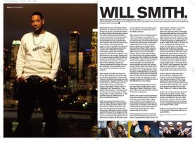 Will Smith Magazine Layout by steady-away